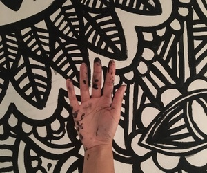art, black&white, and doodle image