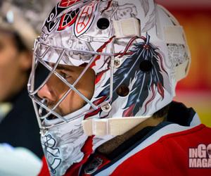hockey, corey crawford, and chicago blackhawks image