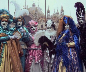 italy, venice, and carnival image