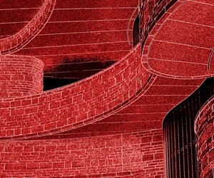 architecture, photography, and red image