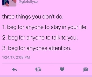 attention, beg, and real image
