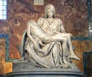michelangelo, sculpture, and art image