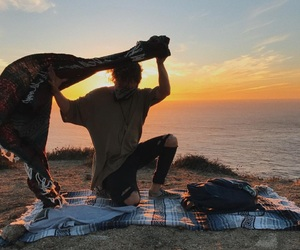 sky, sunset, and jc caylen image