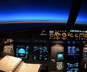 cockpit and plane image
