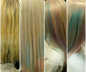 color, hair, and mywork image