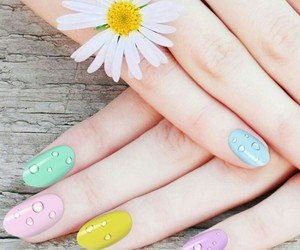 nails, vernis, and stylé image