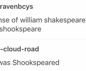 funny, tumblr, and williamshakespeare image