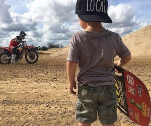 baby, motocross, and passion image