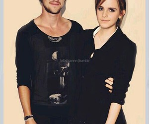 emma watson, dramione, and harry potter image
