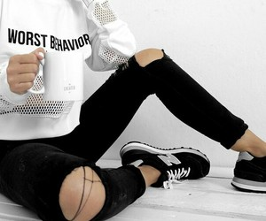 clothes, skinny, and tumblr+ image