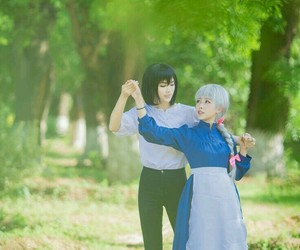 anime, howl's moving castle, and cosplay image