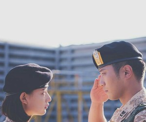 descendants of the sun, kdrama, and dots image