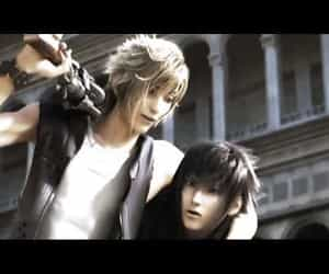 final fantasy, music video, and noctis lucis caelum image