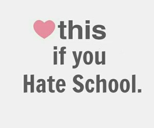 school, 👆, and heart+this image