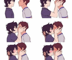 lance, percy jackson, and nico di angelo image