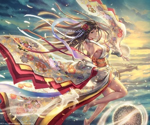 fantasy and kimono image