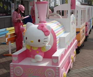 hello kitty, japan, and pink image