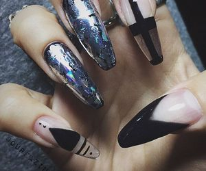 nails, ourfa zinali, and bomb nails image