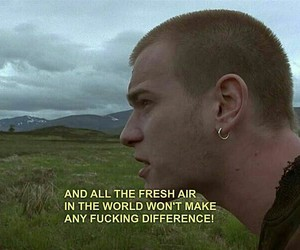 quotes and trainspotting image