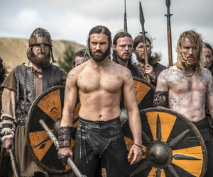vikings, rollo, and clive standen image