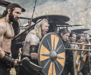 battle, clive standen, and vikings image