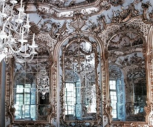 architecture, art, and mirror image
