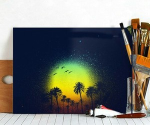 displate, painting, and home decor image