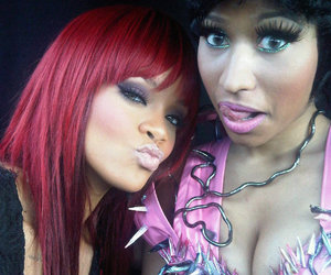 rihanna and nicki minaj image