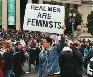 feminist, women, and men image