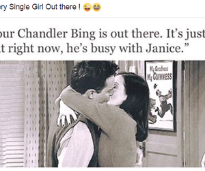 chandler, single, and bing image