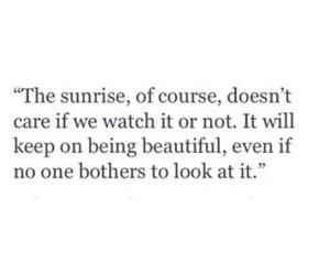 quotes, beautiful, and sunrise image