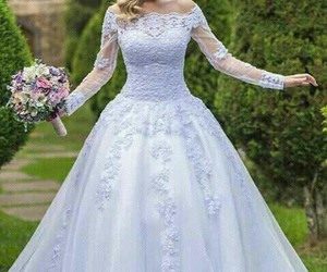 casamento, day, and dress image