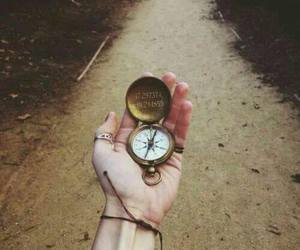 compass, grunge, and hipster image