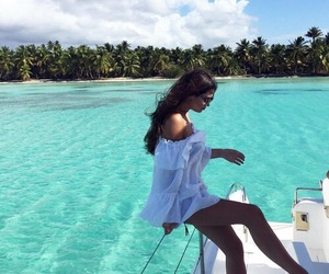 beach, Maldives, and travel image