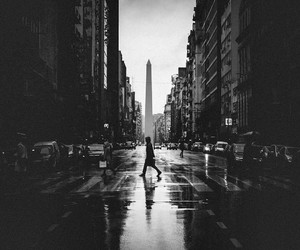 argentina, black and white, and city image