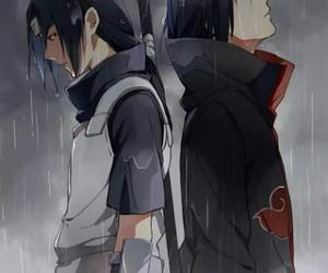 naruto, itachi, and anime image
