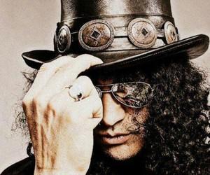 slash, Guns N Roses, and guitar image