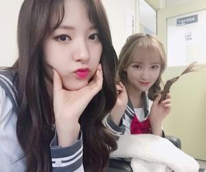 jiyeon, 보나, and bona image