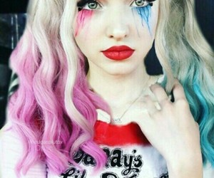 harley quinn, dove cameron, and dovecameron image