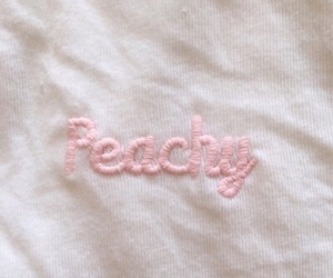 peachy, pink, and aesthetic image