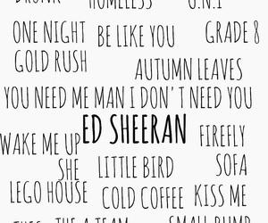 ed sheeran, edsheeran, and edward sheeran image