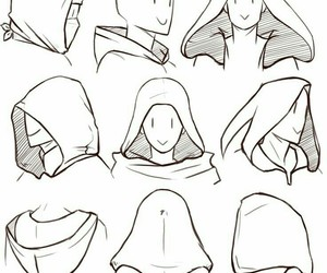 hoods, art references, and art image
