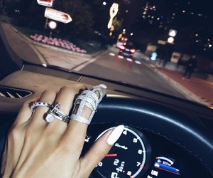 car, nails, and rings image
