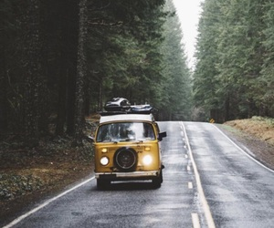 roadtrip, travelling, and vintage image