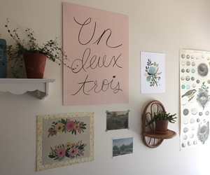 aesthetic, flowers, and room image