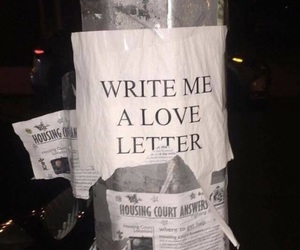 love, Letter, and grunge image