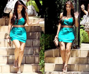 kim kardashian, dress, and kim image