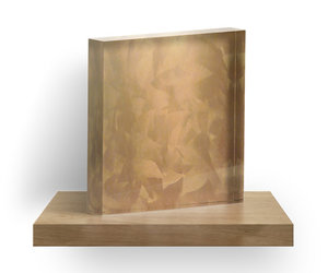 copper, fancy, and acrylic block image