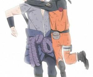 naruto, yaoi, and sasunaru image