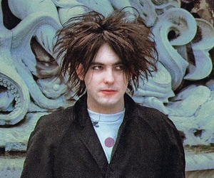 robert smith and the cure image